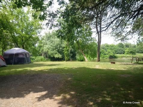Bingemans Campsite Beside Grand