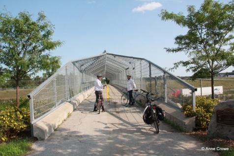 401 Ped Bridge