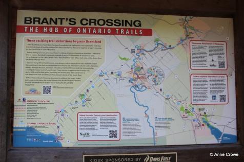 Brants Crossing Sign 2