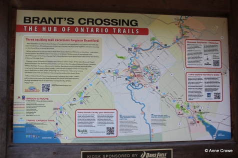 Brants Crossing Sign 2