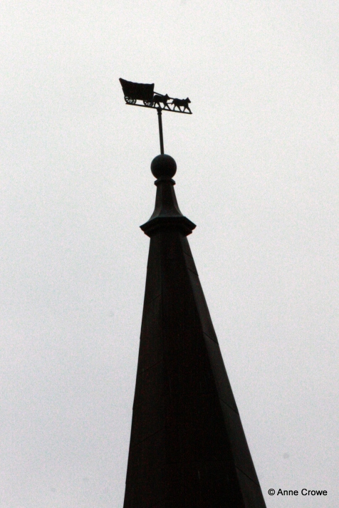 Pioneer Tower Windvane